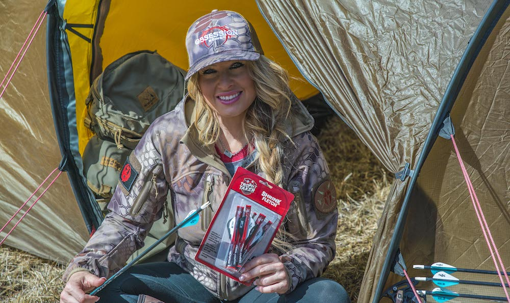 Kristy Titus On How To Use Trophy Taker Shrink Fletch