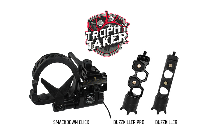 Trophy Taker Introduces New Xtreme Pro, Smackdown Pro Micro-Adjustable Arrow Rests and Pro-Grade Accessories